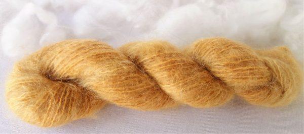 Mohair et laine – teinture naturel au henné 35