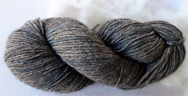 Laine mérinos et yack – teinture à l'indigo 432-433-434