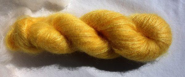 Laine kid mohair et soie - coreopsis - 1616