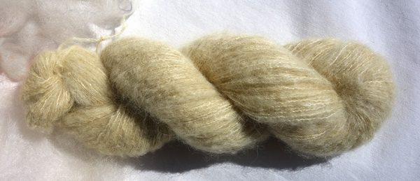 Laine alpaga et soie-teinture solidage-1702
